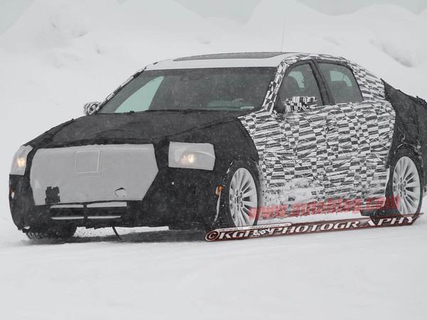 Future Cadillac CTS: grandir pour concurrencer la BMW Série 5...