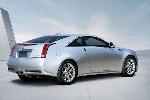Officiel : voici la Cadillac CTS Coupé