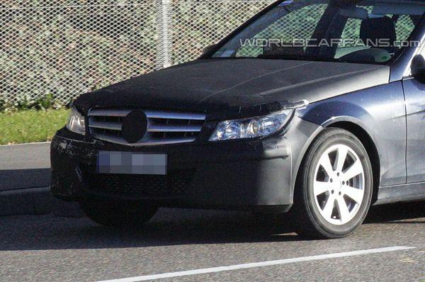 Spyshot : Mercedes Classe C restylée