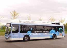 Salon de Séoul 2009 : un bus électrique à l'hydrogène signé Hyundai