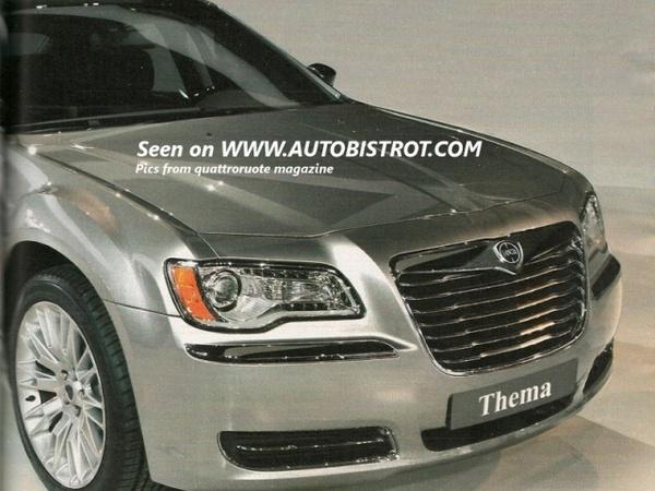Nouvelles Lancia Thema et Flavia : ce sont elles, ne les appelez pas Chrysler