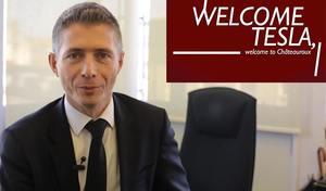 Vidéo: Châteauroux branche Tesla