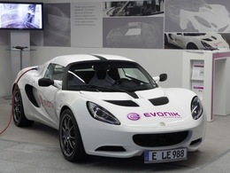 Evonik présente l'Elise-E : la voiture de sport électrique la plus légère au monde