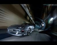 Une Toyota Supra tout simplement magnifique..