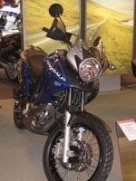 Salon de la moto 2007, les vidéos : la Honda Transalp XL700V