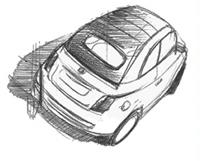 Fiat 500 cabriolet: le temps du teasing