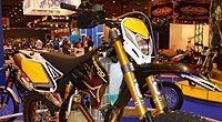 Salon de la Moto 2007 en direct : Sherco Trial, Enduro et Supermotard