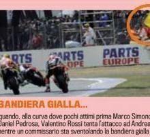 Moto GP - France: Selon la Gazzetta dello Sport on a oublié de sanctionner Rossi au Mans !