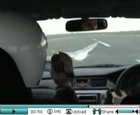 La vidéo du jour : attention la mouette !!! (Mitsubishi Lancer Evo IX)