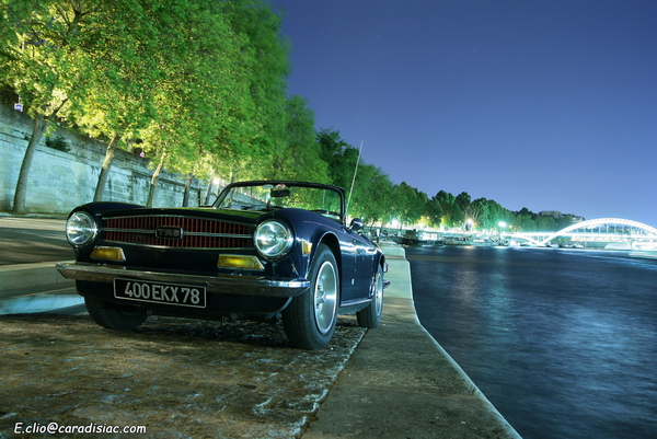 Photos du jour : Triumph TR6