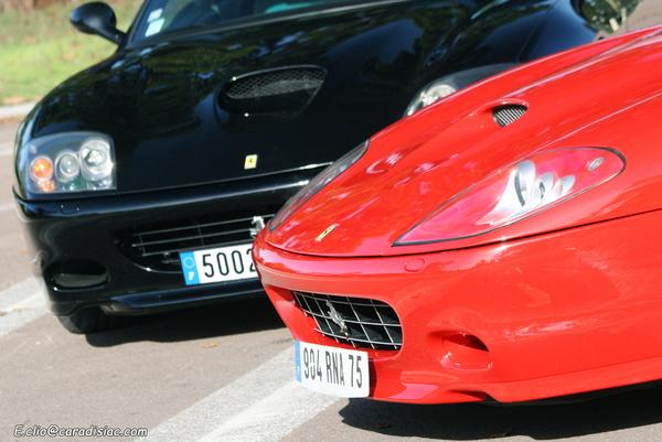 Photos du jour : Ferrari Superamerica & 575 Maranello