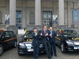 Taxis électriques à Bruxelles : le Chinois BYD remporte l'appel d'offres