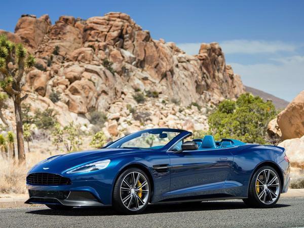 Voici la nouvelle Aston Martin Vanquish Volante