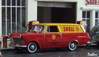 Miniature : 1/43ème - OPEL Rekord P2 Caravan