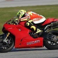 Moto GP - Ducati: Valentino Rossi retrouve la 1198 pour découvrir Silverstone