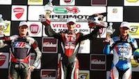 Supermotard - Championnat d'Italie: Adrien Chareyre victorieux à Viterbo.