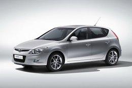 Gros plan sur la Hyundai i30 Blue ISG