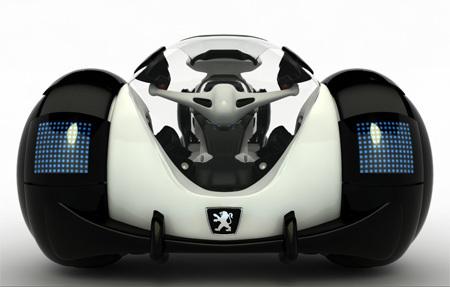 Salon de Shanghai 2009 : le Concept électrique Peugeot RD
