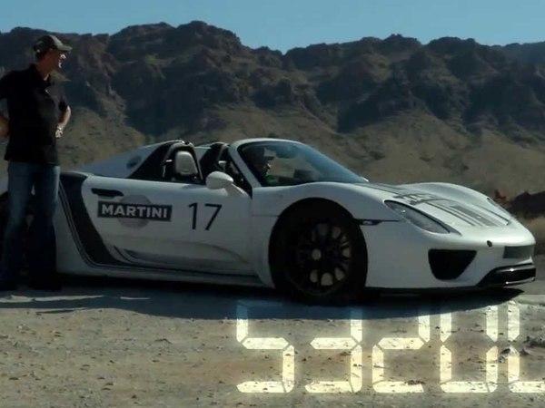 Porsche 918 Spyder : déjà 1,6 million de km de test