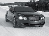 Bentley Continental GT World Ice Speed Record