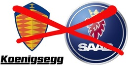 Koenigsegg ne rachetera pas Saab