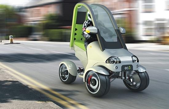 Un Concept de quad électrique : le Urban Quad Bike