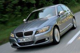 La BMW 330d 2009 dotée d'un piège à NOx