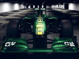 F1 : Team Lotus présente sa T128 à moteur Renault