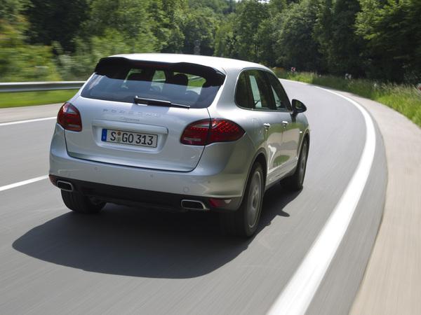 Porsche Cayenne diesel: bientôt en V8!