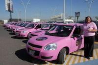 Au Mexique, les femmes auront désormais... leurs taxis roses !