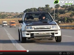 Toyota Starlet EP70 Stroked-Up : 600 ch sur les roues avant