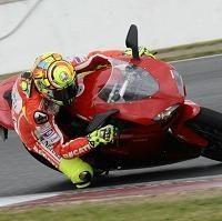 Moto GP - Ducati: Valentino Rossi a découvert Silverstone sur une 1198 de série