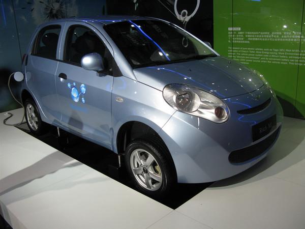 Salon de Shanghaï 2009 : les concepts électriques Tiggo 3 EV et Riich M1 EV