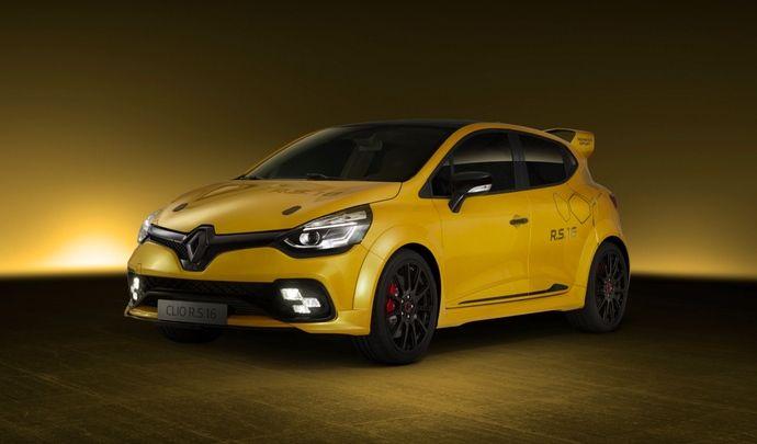 Info Caradisiac – Renault Clio RS 16: la mise en production décidée d'ici le Mondial de l'Auto