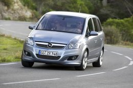 Nouveauté mondiale : l'Opel Zafira ecoFLEX 1.6 Turbo CNG