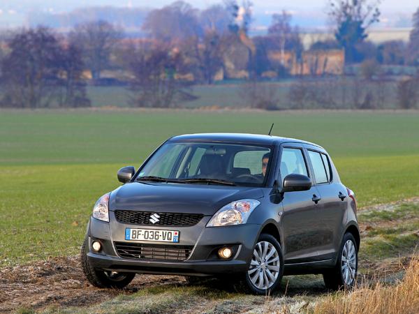 Nouvelle Suzuki Swift 4x4: 15490 euros