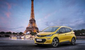 Mondial de Paris 2016 : Opel confirme l'Ampera-e