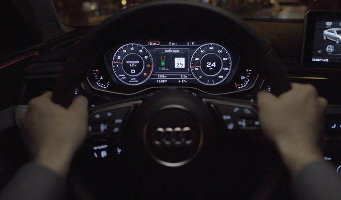Audi détaille son système de communication avec les feux