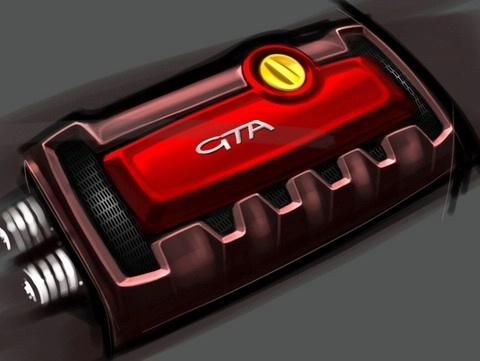 alfa romeo mito gta le teasing c 39 est le moteur. Black Bedroom Furniture Sets. Home Design Ideas