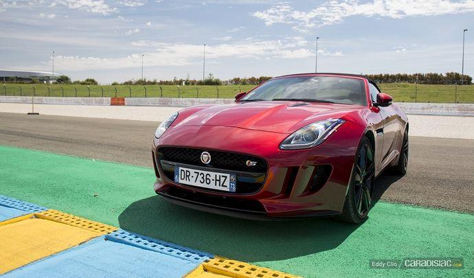Photos du jour : Jaguar F-Type S (Le Mans Classic)