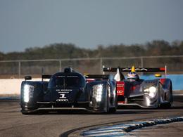 Audi satisfait par les tests de sa nouvelle R18 à Sebring