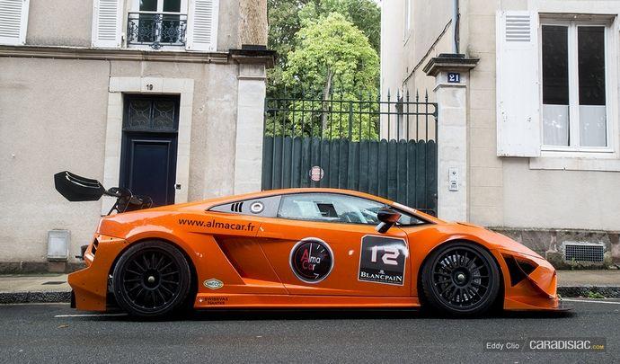Photos du jour : Lamborghini SuperTrofeo(Grande Parade des Pilotes du Mans)