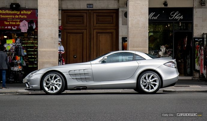 Photos du jour : Mercedes Mclaren SLR