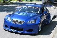 Une Lexus IS en compétition: la GTF