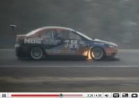 Réveil Auto - Mitsubishi Lancer Evo X AMS 751ch : un tour de circuit un peu trop chaud