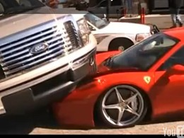 [Vidéo] Ford F-150 + 458 Italia = F1 Ferrari 2011 ?
