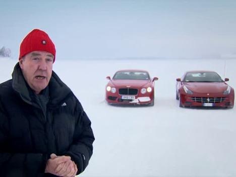 Top Gear : Ferrari FF vs Bentley Continental GT V8, duel en première classe