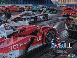 Pas de Peugeot et beaucoup de GT sur l'affiche officielle des 12 Heures de Sebring