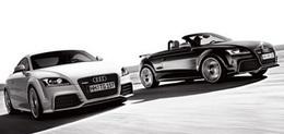 Audi TT-RS coupé et roadster: maintenant en entier