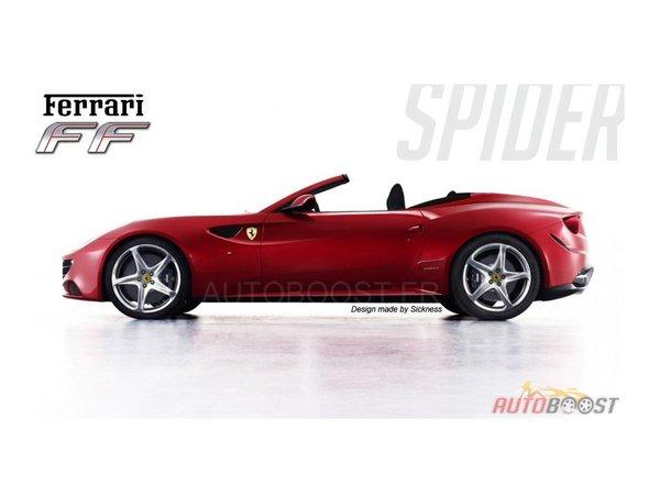 Une Ferrari FF Spider, ça vous tente ?